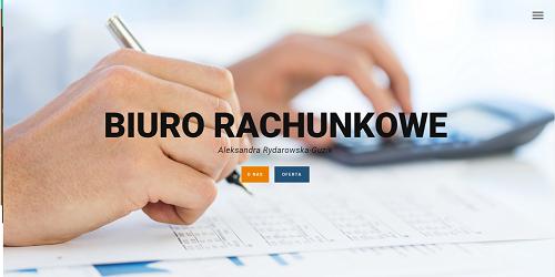 Biuro Rachunkowe - responsywne strony internetowe