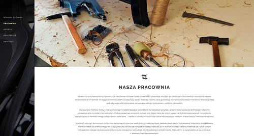 Tapicer Krosno - responsywne strony www